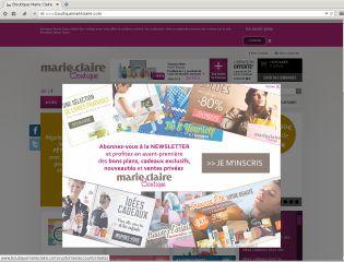 fc5d2745df Tous les Code promo Boutique Marie Claire 2019 (1)