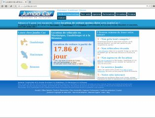 Code promo jumbo car martinique