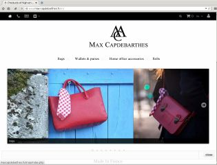 Accéder au site Max Capdebarthes