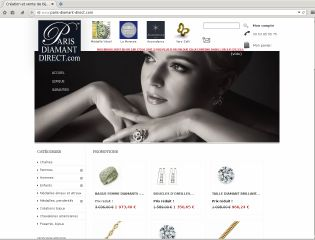 Accéder au site Paris Diamant Direct