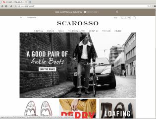 Accéder au site Scarosso Chaussures