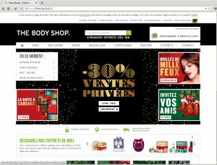 Accéder au site The Body Shop