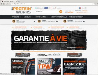 Accéder au site The Protein Works